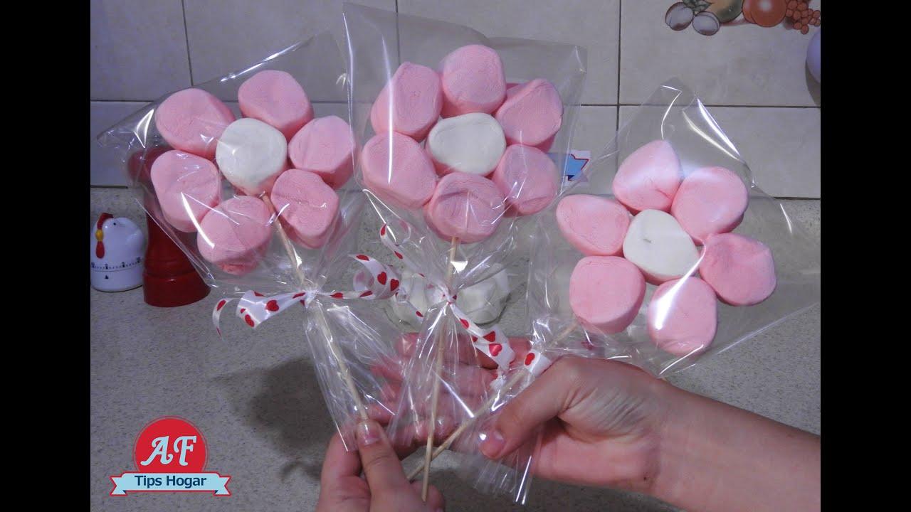 Florecitas De Bombon Para San Valentin YouTube