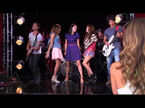 Violetta 2: I ragazzi mostrano a Angie la sua canzone (Ep.49) HD