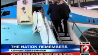 The Nation Remembers: Visitors Tour JFK