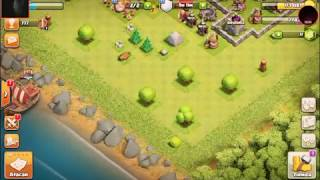 Clash of clans atacado aldeas o yea