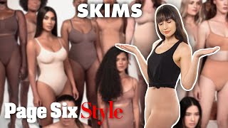 We tried Kim Kardashian's SKIMS shapewear | Style Trial | Page Six Style