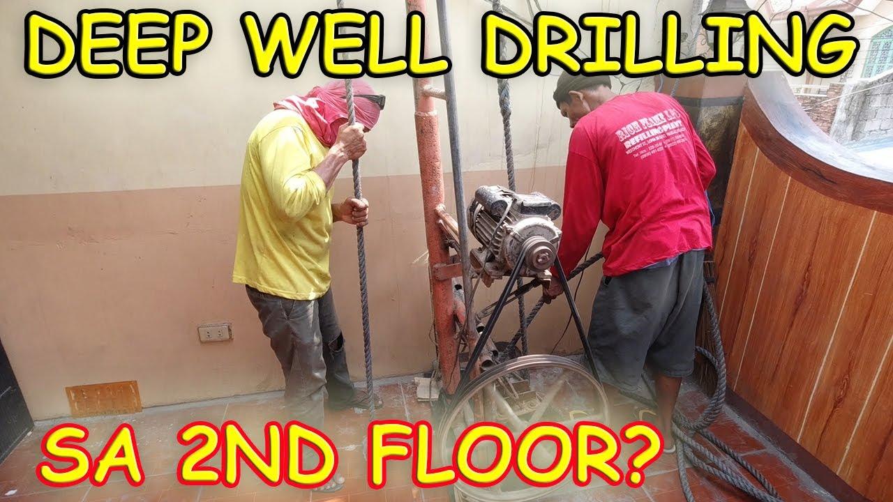 Deep Well Drilling sa Garahe na may Slab? (DAY 1)