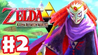 The Legend of Zelda: A Link Between Worlds - Gameplay Walkthrough Part 2 - Eastern Palace (3DS)