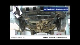 steel sump guard skid plate