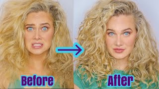 BIG WAVY/CURLY HAIR | VOLUME & DEFINITION for fine hair with Prose