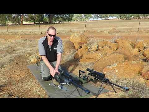 4AW Extreme Long range prone shooting technique (Video 1)