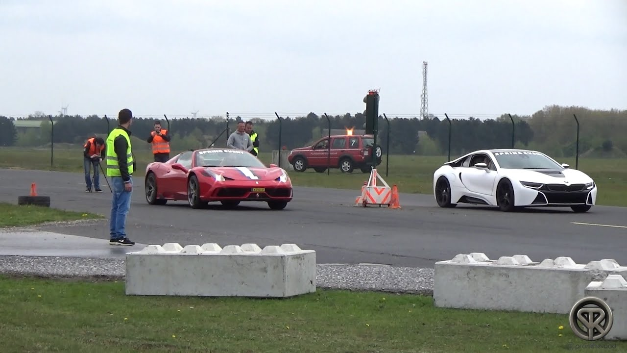 Bmw I8 Vs Ferrari Speciale Aperta Vs Nissan Gtr Vs Mclaren Mp4 12c