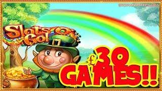 Slots O Gold BIG BETS £30 GAMES!!