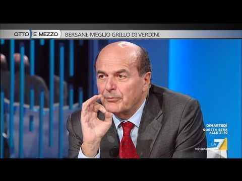 Otto e mezzo - Bersani: meglio Grillo di Verdini (Puntata 25/10/2016)
