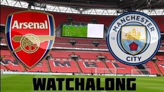 Arsenal vs Man City Live Football Watchalong Premier League man city vs arsenal vs man city