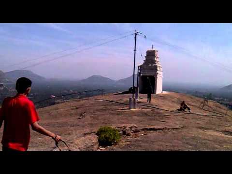 From the top of RevanSiddeshwara hill, Ramanagaram,Karnataka, India.