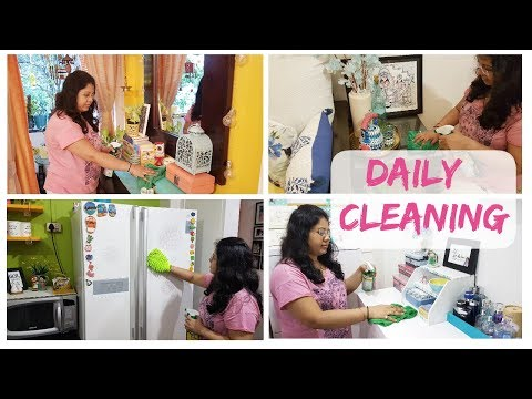 Daily Indian Home Cleaning Routine  |  Clean With Me | Maitreyee's Passion