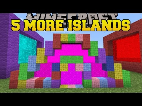 Minecraft: 5 MORE ISLANDS! - THE 8 ISLANDS - Custom Map [2]