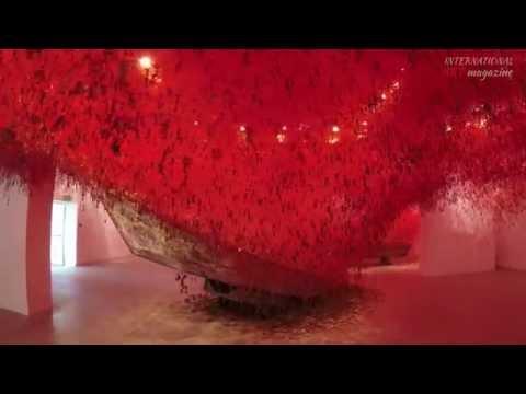 Venice Biennale 2015. Chiharu Shiota. Japan Pavilion.