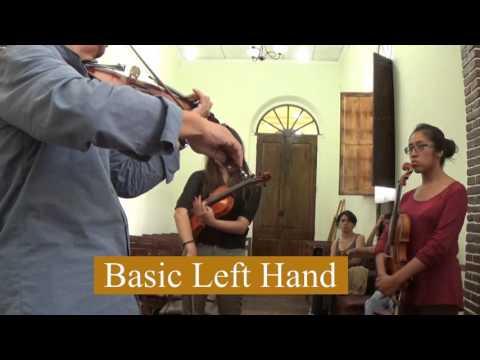 Bolivia Violin Group Lesson 1