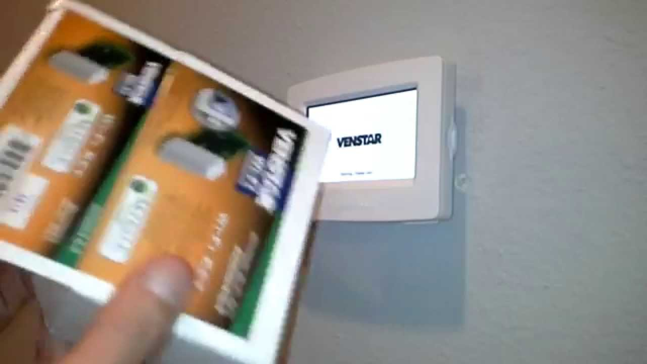 maxresdefault venstar colortouch thermostat installation video youtube venstar t2800 wiring diagram at gsmx.co