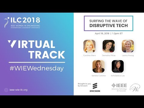 #WIEWednesday 2018: Surfing the Wave of Disruptive Tech