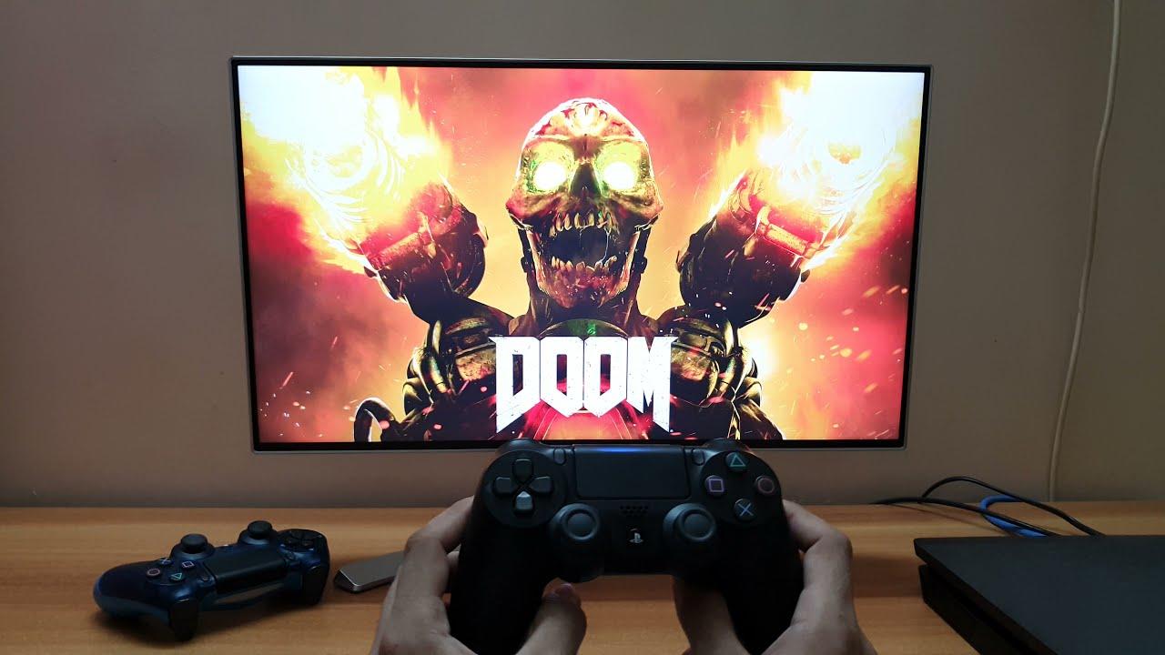 DOOM 2016 Gameplay PS4 Slim (1080P LG Monitor)