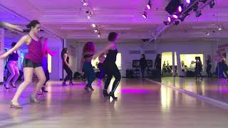 HEELS CLASS WITH OLIVIA