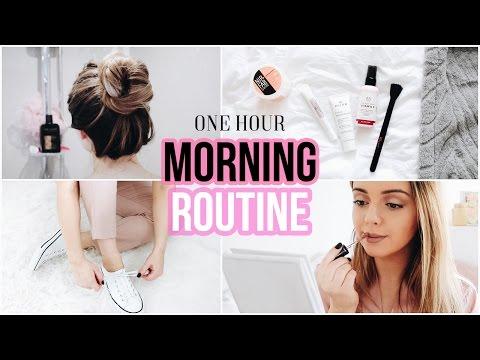 SPRING MORNING ROUTINE | One hour minimal routine | Naomi Victoria