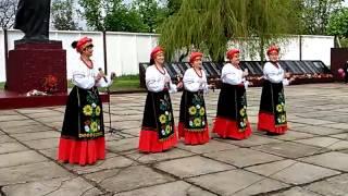 Смуглянка- на украинском языке Бирюково 9 мая 2015 год