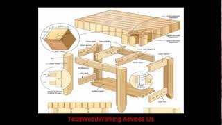Furniture plans - How to build a diy furniture. Detailed diy furniture plans and instructions.