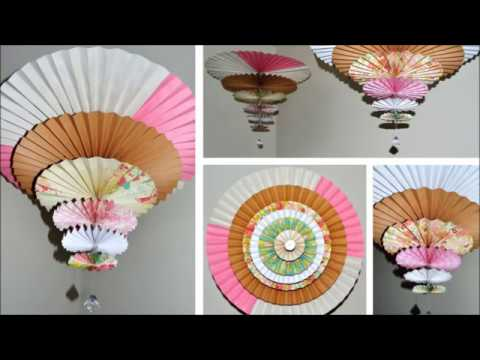 Spinning medallions paper fanchandelier youtube spinning medallions paper fanchandelier aloadofball Gallery