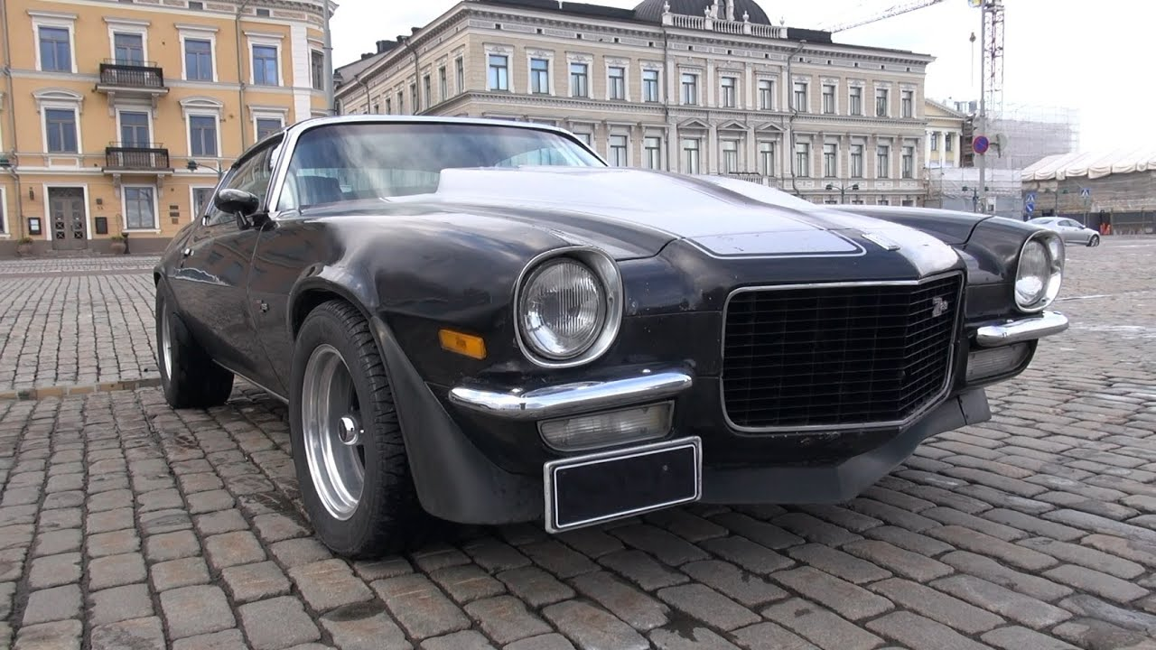 Oldschool Camaro Z28 V8 Sound