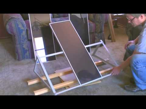 Solar Sun Tracking DIY - Rotating platform for Solar Panels! (doubles power output)
