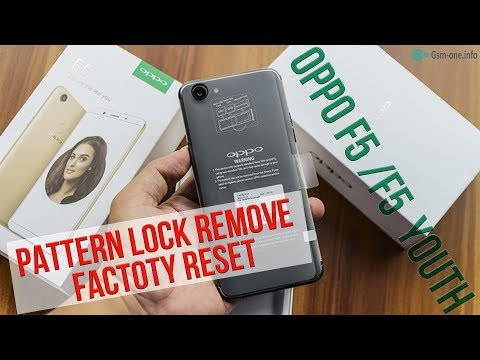 Oppo A3s User Lock Remove Delete Screen Password