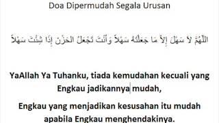 Doa Dipermudah Segala Urusan - Idris Shamsuddin