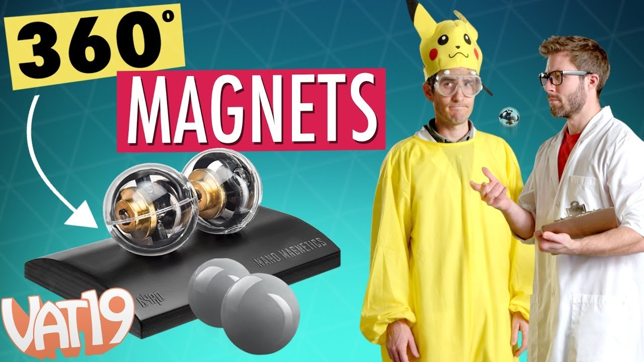 Burning Questions: Spinning Magnetic Orbs - YouTube