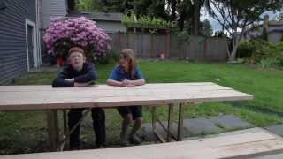 DIY by Kids: Picnic Table Restoration