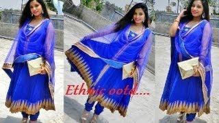 Maternity Lookbook Ethnic Wear Anarkali Salwar Styling