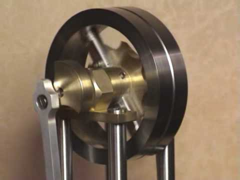 "Stirling engine ""Gamma configuration"""