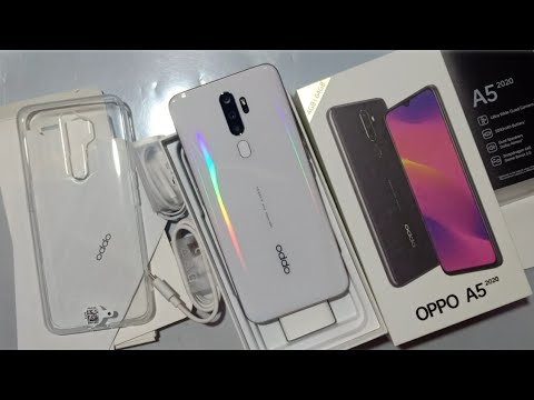 Oppo A5 2020 unboxing and overview