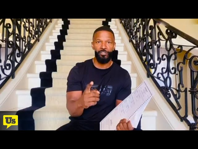 Jamie Foxx wants you to vote absentee