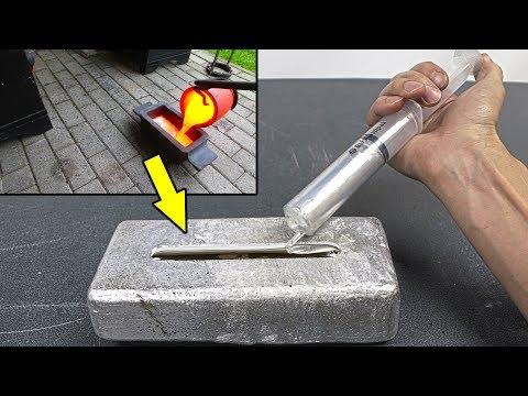 Gallium Vs Big Aluminum Ingot