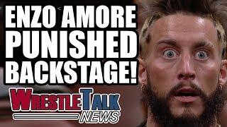 HEAT On New Smackdown Star! Enzo Amore Backstage WWE Punishment! | WrestleTalk News Aug. 2017