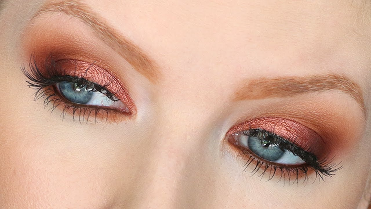 Warm Smokey Eye Makeup Tutorial | UD Naked Heat - YouTube