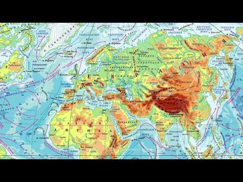 География 5-6 класс. Работа с контурной картой. Что делать, если название не помещается на карте?