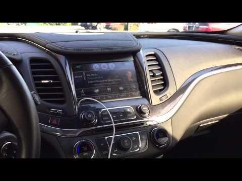 Custom Trunk Build 2014 Chevrolet Impala With Halo Lights