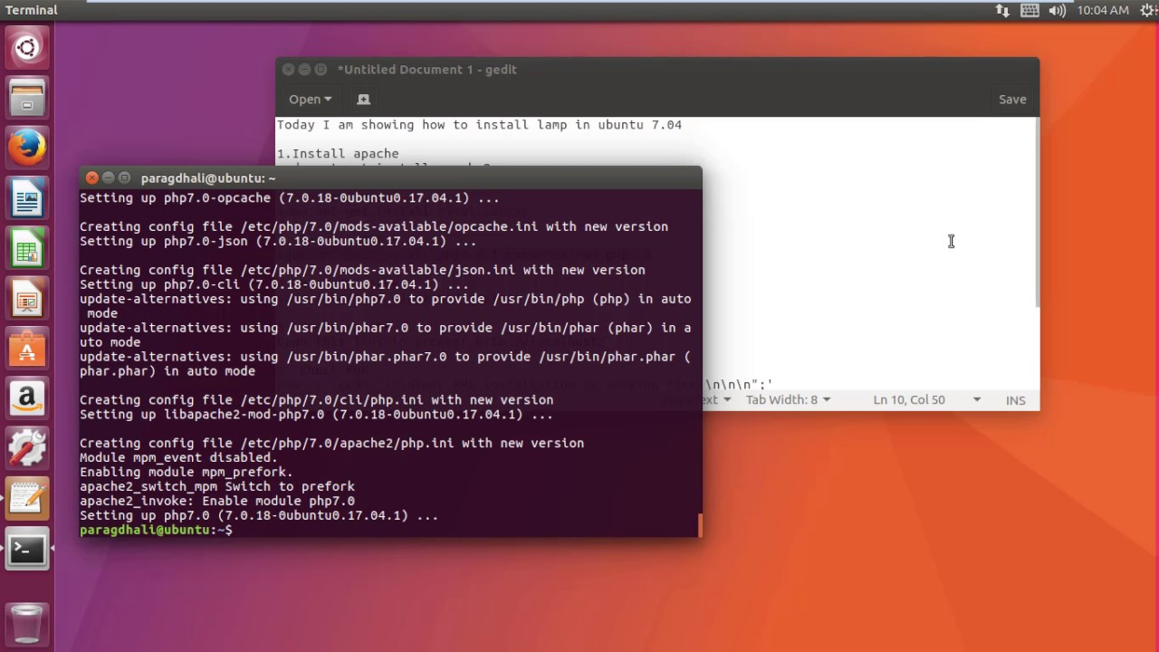 High Quality How To Install LAMP Server ( Linux   Apache   MySQL   PHP 7.0 ) On Ubuntu  17.04