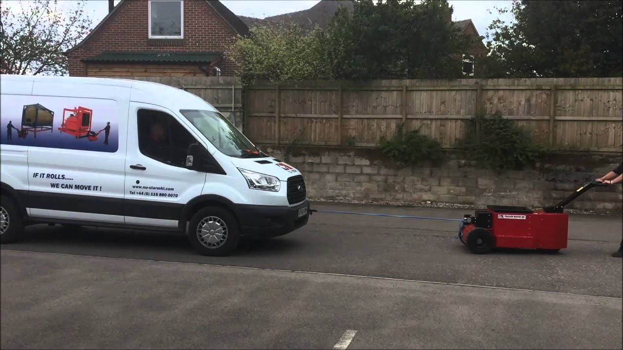 Nu Star HD Trailer Mover towing Ford Transit van