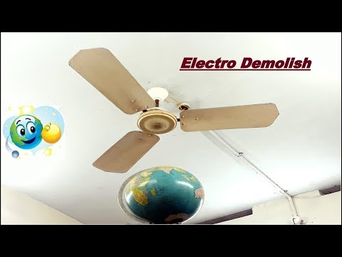 Ceiling Fan Falling to Earth Globe😨|Perfect example for High Speed Results Destruction |Part 13 |HD