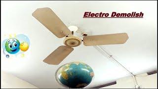 Vintage Crompton Greaves Ceiling Fan Falling to Earth Globe😨 |Part 13 |HD