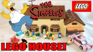 Random Pickup: Lego The Simpsons House Review (71006)