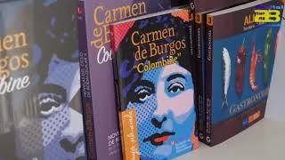 Diputación difunde la cultura almeriense en la Feria del Libro de Roquetas de Mar