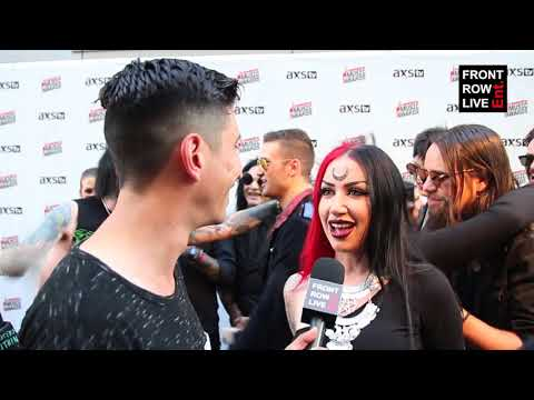 Ash Costello Of New Years Day Talks New Music at Loudwire Awards