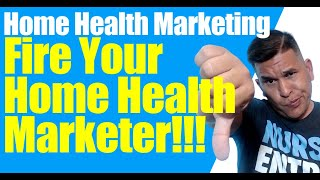 Home Health Marketing: Problems with marketers  (Homecare Marketing)